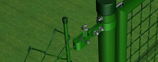 gartenzaun grün