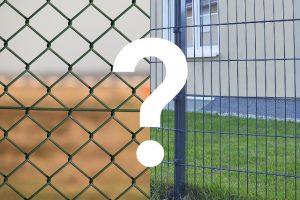 Maschendrahtzaun oder Doppelstabmattenzaun? - AMPANEL.de