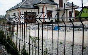 Doppelstabmattenzaun Komplettset kauft - Ampanel.de