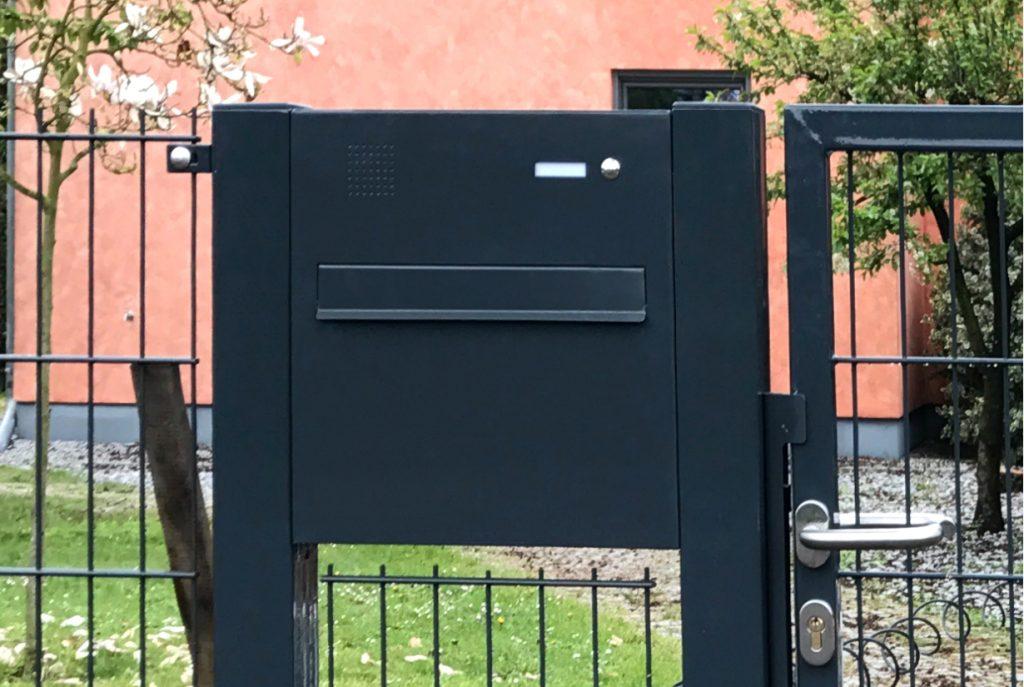 Doppelstabmattenzaun Briefkasten - Ampanel.de