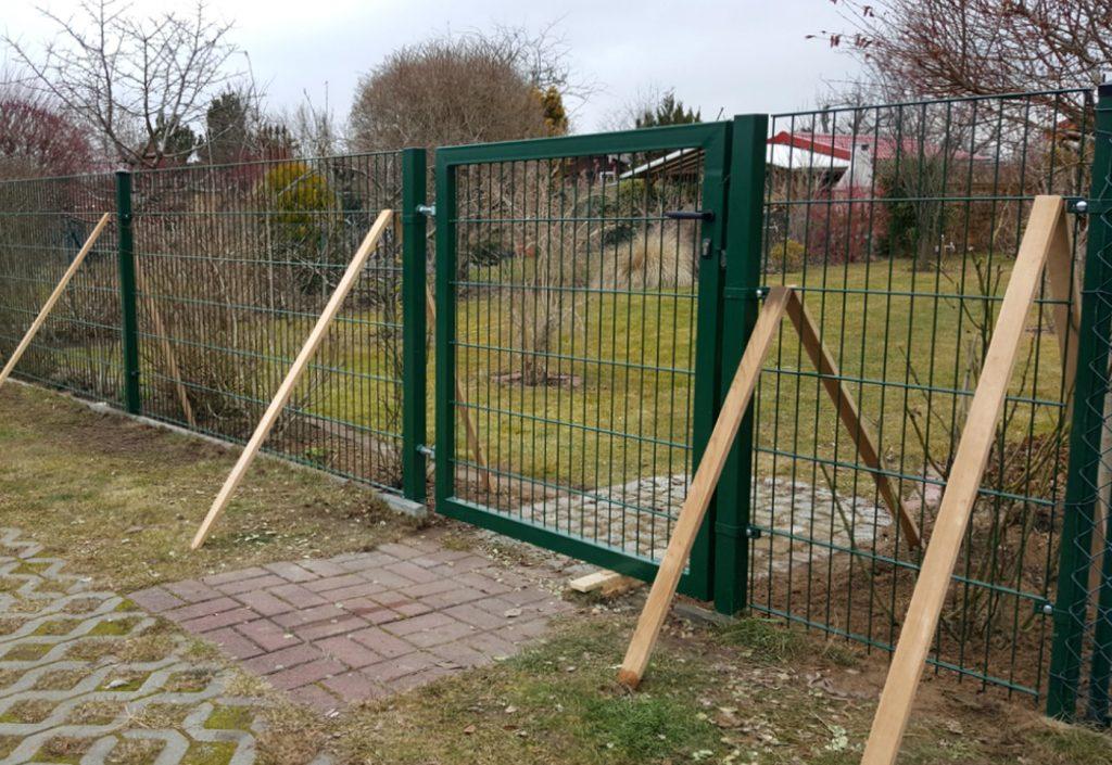 Gartentor für Doppelstabmattenzaun - Ampanel.de