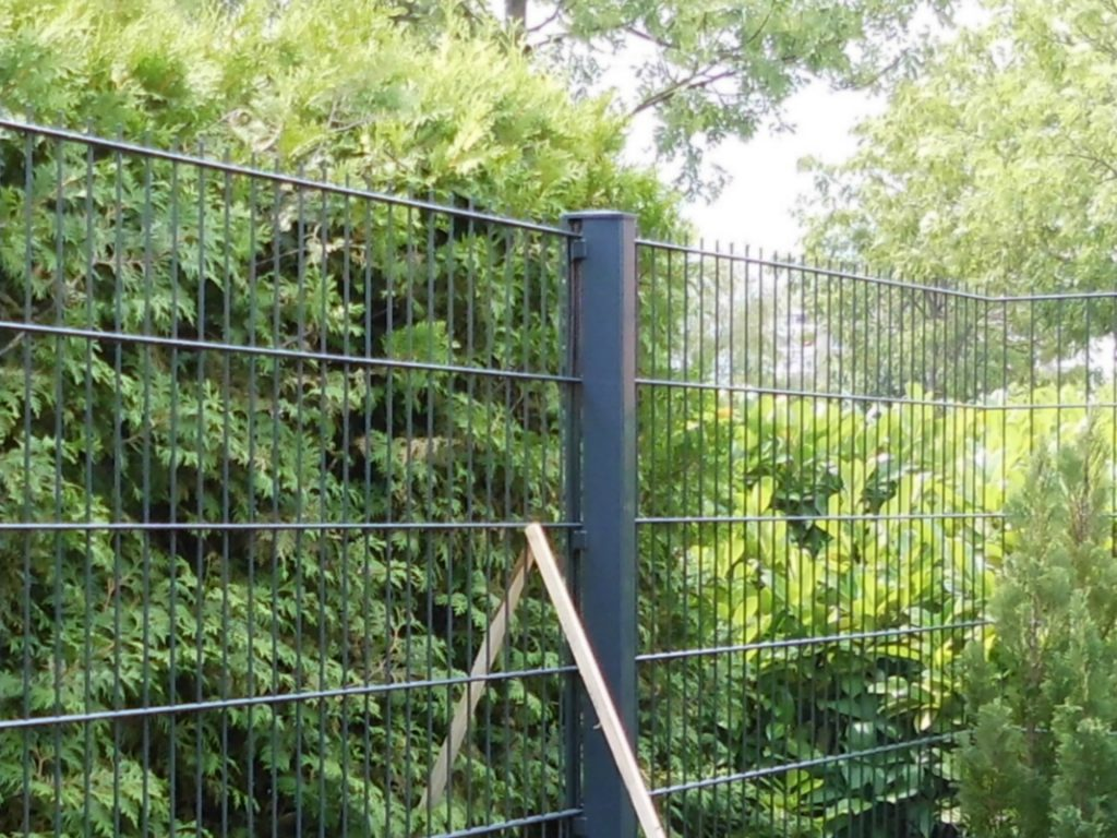Gartenzaun Metall modern - Ampanel.de