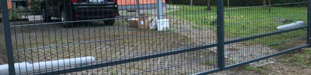 Schiebetor Doppelstabmatten - Ampanel.de