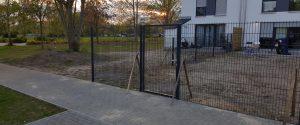 Doppelstabmatten Tore aus Polen - Ampanel.de