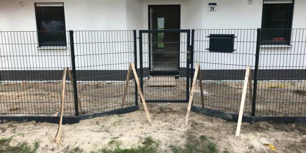 Stabmattenzaun Komplettset - Ampanel.de