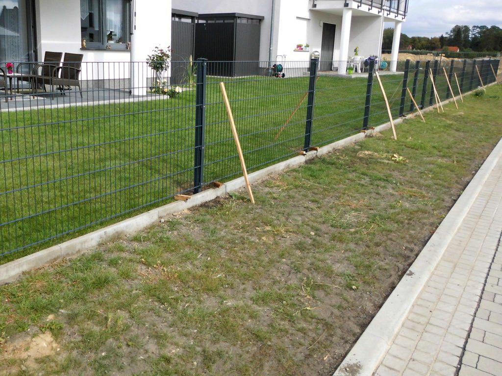 Gartenzaun Doppelstab - Ampanel.de