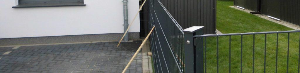 Stabmattenzaun Komplettset kaufen - Ampanel.de