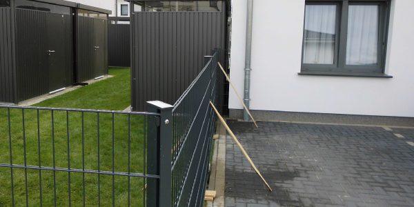 Doppelstabmattenzaun Farbe wählen - Ampanel.de
