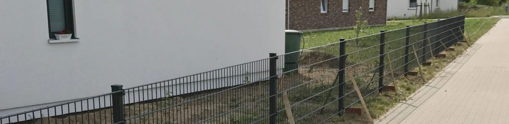 Doppelstabmattenzaun inklusive Montage - Ampanel.de
