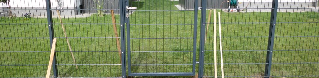 Metallzaun für Garten - Ampanel.de